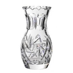 Victoria * Ólomkristály Tulipán váza 18 cm (Tur11125)