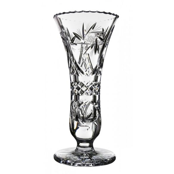 Victoria * Lead crystal Footed vase 25,5 cm (11196)