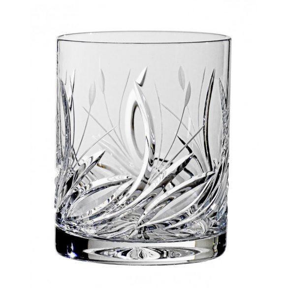 Viola * Lead crystal Whiskey glass (Gas11213)