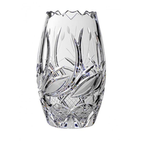 Viola * Ólomkristály Hordó váza 18 cm (Tur11220)