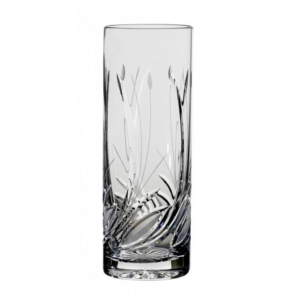 Viola * Lead crystal Tumbler 03 glass (Cső11223)