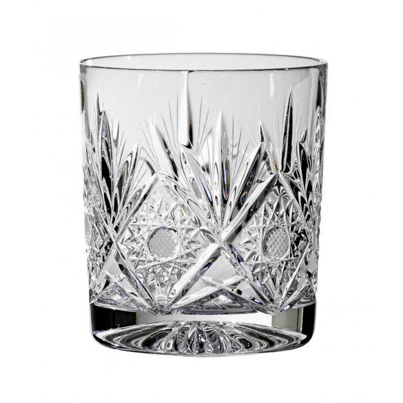 Laura * Lead crystal Whisky 12 glass  (Gas11313)