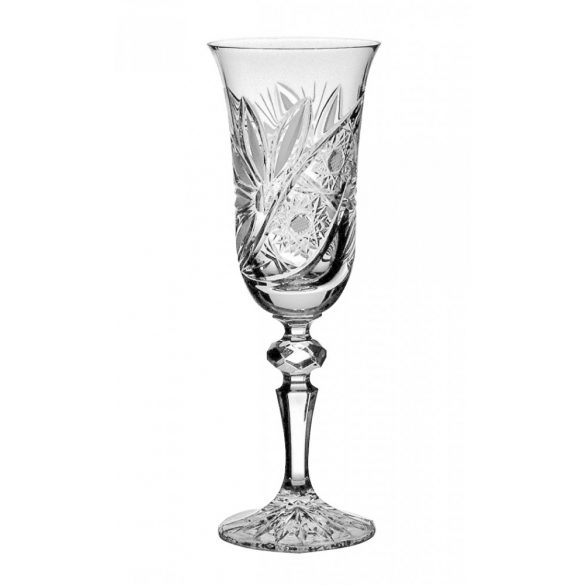 Liliom * Lead crystal Champagne glass 150 ml (L11607)