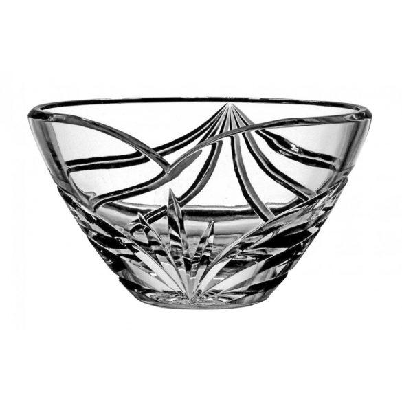 Modern * Lead crystal Oval bowl 210 (15118)