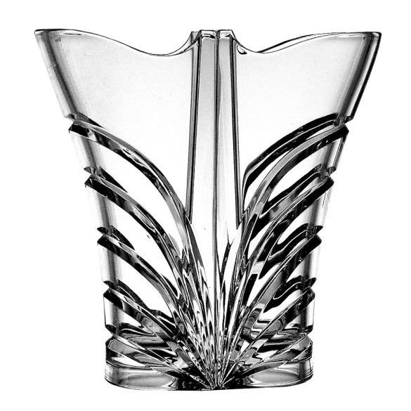 Modern * Lead crystal Love vase 22 cm (double) (Dupla15214)