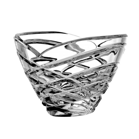 Modern * Lead crystal Oval bowl 210 (15218)