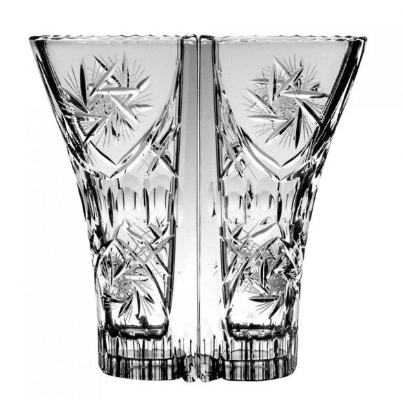 Victoria * Lead crystal Love vase 22 cm (double) (Dupla16114)