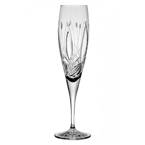 Viola * Lead crystal Champagne glass 200 ml (F16207)
