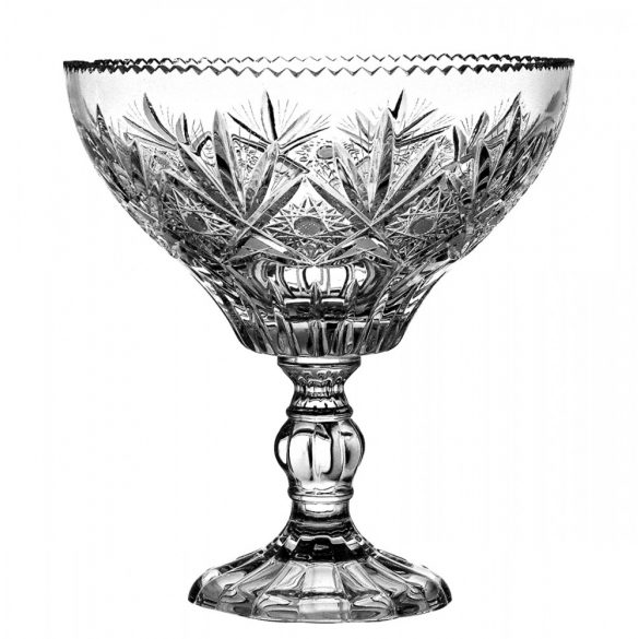 Laura * Lead crystal Footed fruit bowl 21,7 cm (16317)