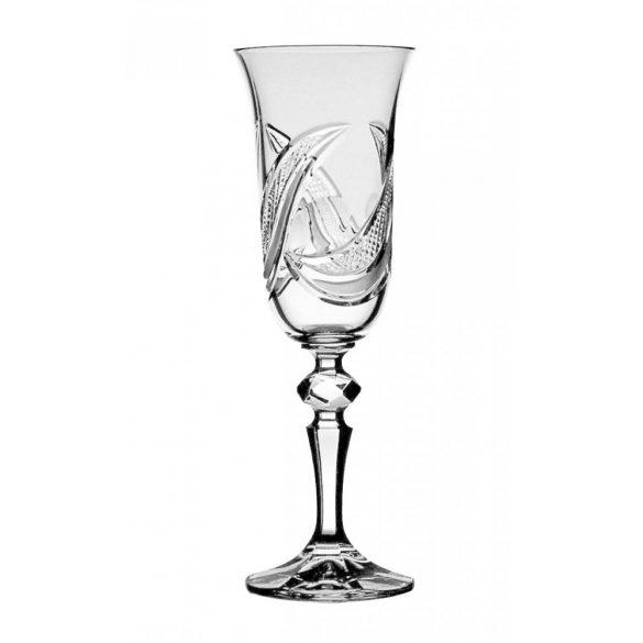 Aphrodite * Crystal Champagne glass 150 ml (L17407)