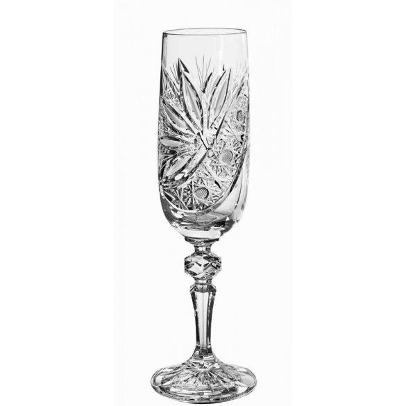 Liliom * Crystal Champagne glass 180 ml (M17597)