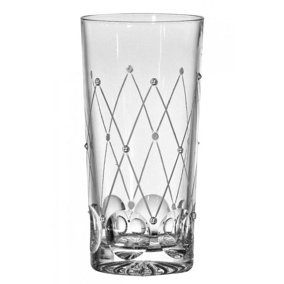 Pearl * Crystal Tumbler glass 330 ml (Tos17815)