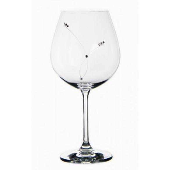 Pearl * Crystal Wine glass 650 ml (GasGD17858)