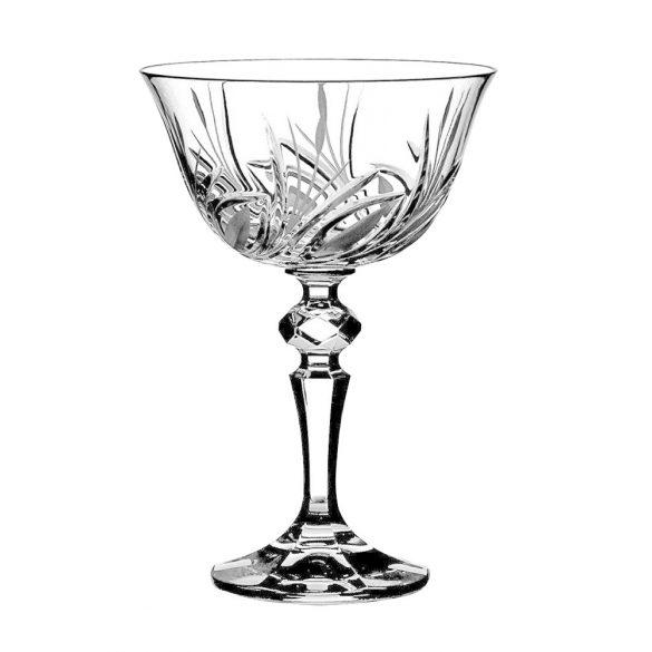 Viola * Crystal Champagne stemware (LCsé17908)