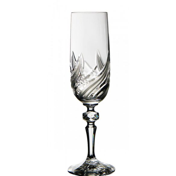 Fire * Crystal Champagne glass 180 ml (M18697)