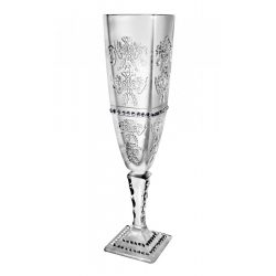 Royal * Crystal Champagne flute glass 140 ml (Ar18907)