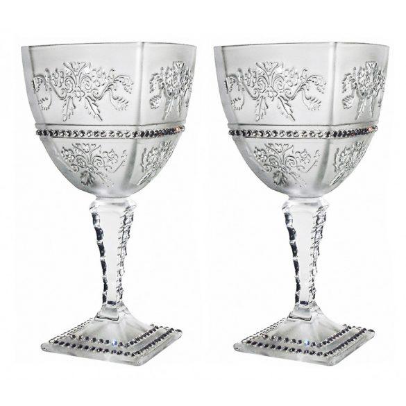 Royal * Crystal Ar Goblet stemware (18925)