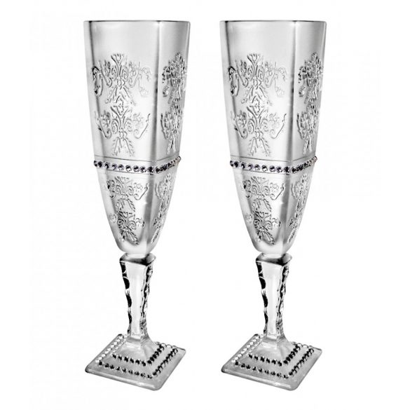 Royal * Crystal Ar Champagne flute stemware (18927)
