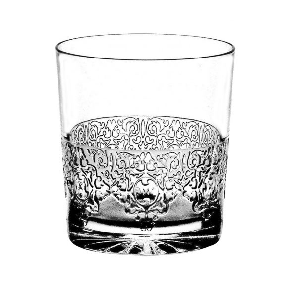 Lace * Crystal Whisky glass 300 ml (Tos19013)